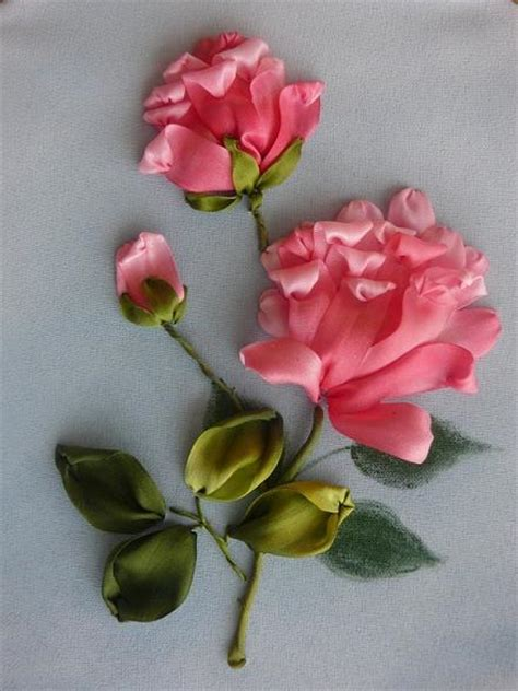 flower design with ribbon 1000 images about ribbon flower on pinterest ribbon