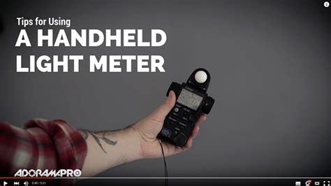 light meter landscape photography tips for using a handheld light meter