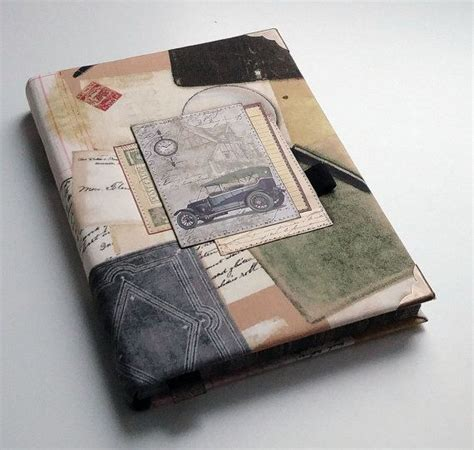 design journal handmade diary fabric cover a5 journal fabric covered artisan lined