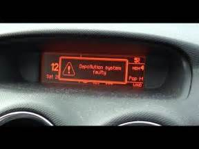 Peugeot 307 Anti Pollution Fault Diesel Peugeot 308 Depollution System Faulty Error Code P1340