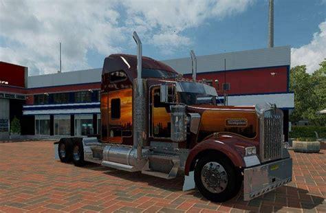 buy kenworth w900 kenworth w900 from update mod ats mod truck