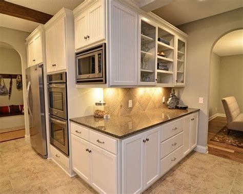 microwave in upper cabinet kitchen wall removal remodel dark countertops ovens and be awesome on pinterest