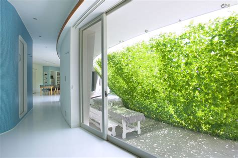 collect this idea lovely green wall integrated in the design of a japanese