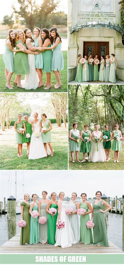 top 10 bridesmaid dresses color trends 2016 tulle
