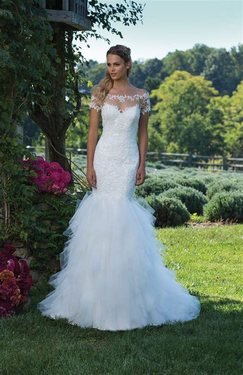 Wedding Style Dress by Most Popular Wedding Dress Styles 2017 Confetti Co Uk
