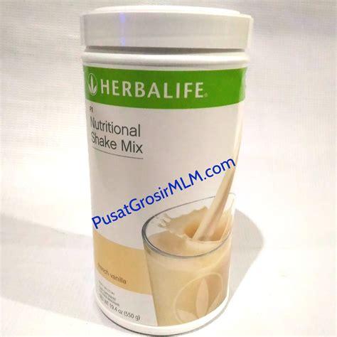 herbalife formula  nutritional shake mix solusi diet