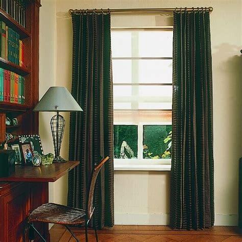 wohnung ohne gardinen gardine mit einzelner oder doppelter falte