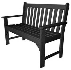 plastic patio bench polywood 174 recycled plastic vineyard garden bench