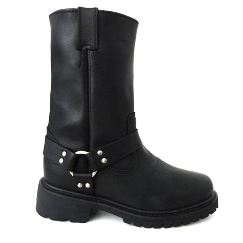 motorcycle boots s classic leather harness boots