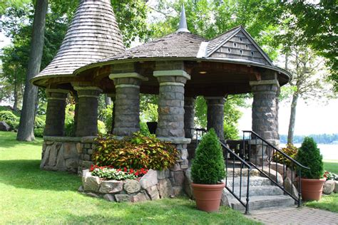 One Story House Plans by 35 Gazebo Designs Picture Gallery Designing Idea