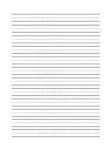 blank writing template blank handwriting practice sheet school supplements