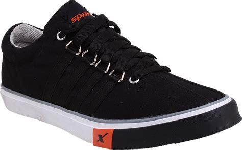 sparx sporty canvas shoes buy black color sparx sporty