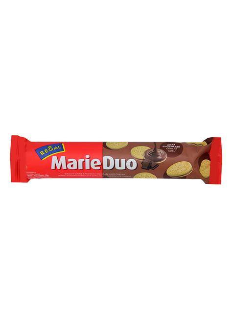 Regal Duo 125g regal biskuit sandwich duo chocolate pck 125g