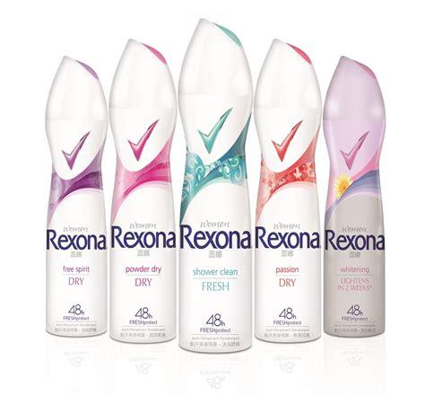 melody rexona new improved formula rexona spray event