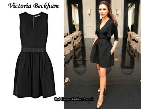 In Beckhams Closet Marc Carpet Fashion Awards by In Beckham S Closet Beckham Bell Dress