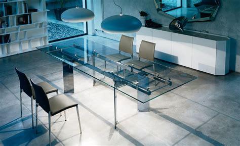 tavoli cristallo allungabili prezzi tavolo cristallo allungabile elan di cattelan tavoli a