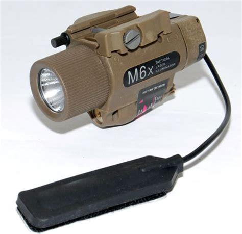 Termurah Tactical Airsoft M6 Laser With Flashlight Include m6x laser illuminator flashlight led xenon bulbs hsmalm6x2 56 47 top airsoft