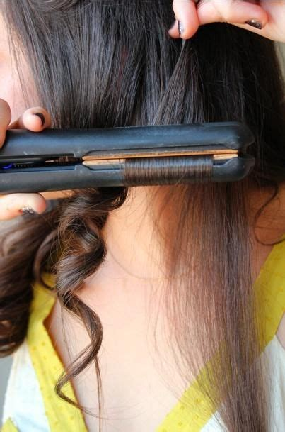hairstyles hair straightener curling your hair with a flat iron hairstyles for long