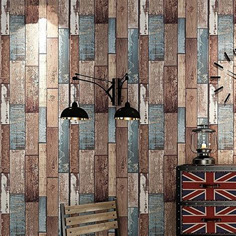 blooming wall vintage wood panel wood plank wallpaper rolls wall blooming wall faux multicolor vintage wood plank wood