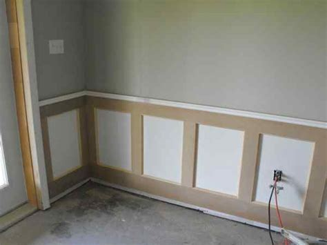 Build Your Own Wainscoting Wainscoting In The Basement Part 6 Woodchuckcanuck