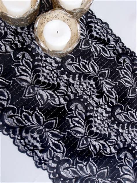 black lace table runner vintage black lace wedding table runner