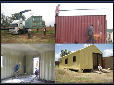 how to build own house how to build your own 3 bedroom container house youtube