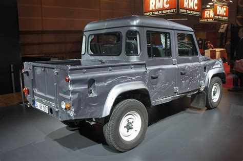 land rover skyfall 2012 live land rover defender cab up