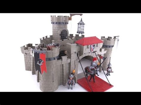 Playmobil Hawk Knights Castle Set playmobil 2015 hawk knights castle review set 6001