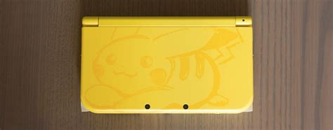 New 3ds Xl Pikachu Yellow Edition New nintendo s pikachu yellow edition new 3ds xl looks stunning feature prima