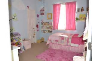 Your little birdie pink and blue girls room