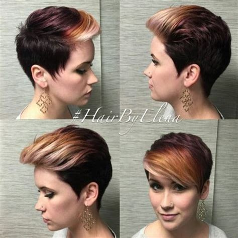 pixie haircut ombre top 18 short hairstyle ideas popular haircuts