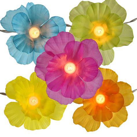Flower String - hibiscus flower string lights