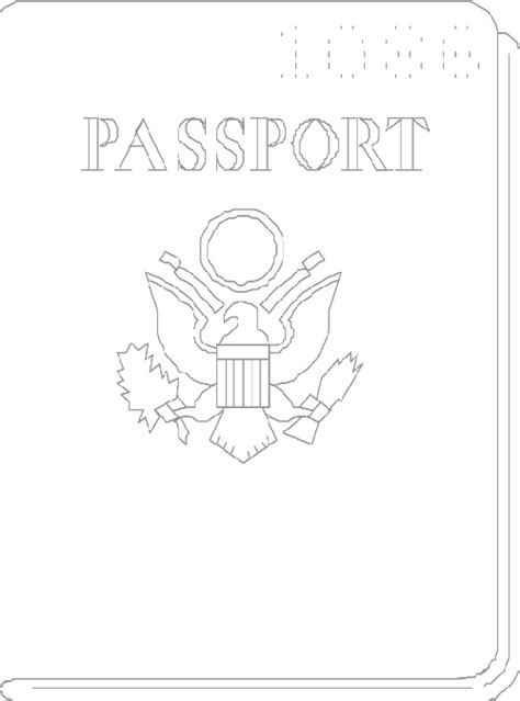 printable reading journal cover another passport template classroom printables and