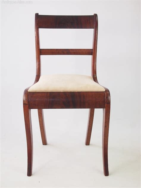 antique side chairs pair antique regency side chairs antiques atlas
