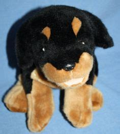 rottweiler barking sounds scooby doo plush sits 10 quot soft cloth factory brown stuffed animal tag