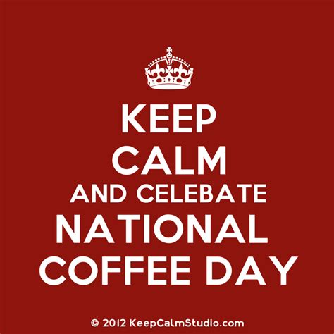 Day Coffee september 29th is national coffee day