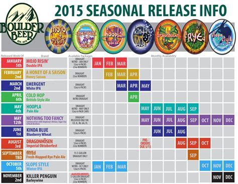 Release Calendar 2015 Craft Release Calendars