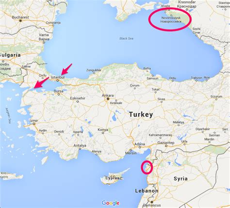 russia turkey map could russia and turkey go to war