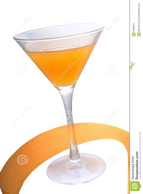 peach cocktail royalty free stock photo image 3698315