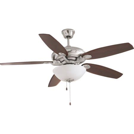 Ceiling Fan Canopy - 52 quot canopy ceiling fan with light kit walmart