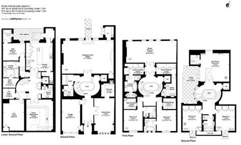Selfridges London Floor Plan | 6 bedroom terraced house for sale in reeves mews london