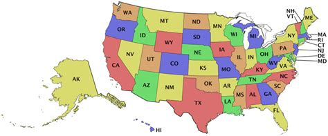 usa map states initials usa states initials geography country maps u united