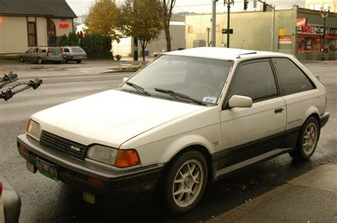 car owners manuals for sale 1988 mazda familia parking system old parked cars 1988 mazda 323 gtx turbo 4wd