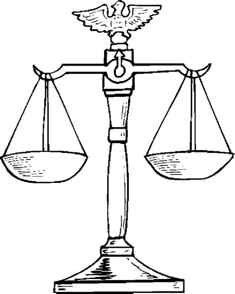 coloring pages justice free coloring pages of judge with gavel
