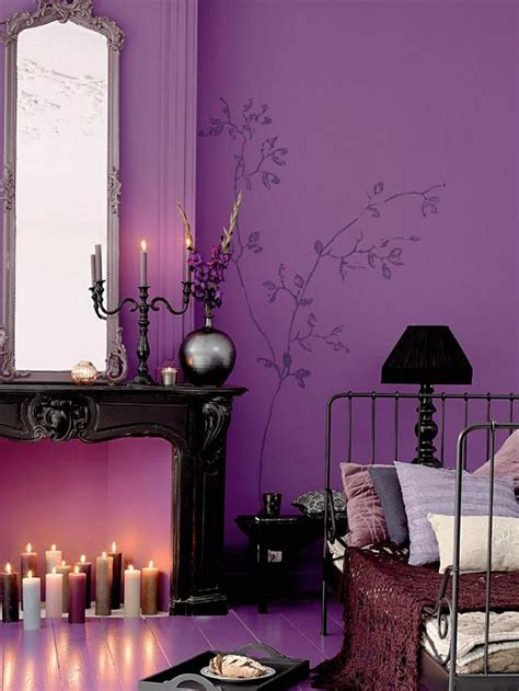 Purple Bedroom | 24 purple bedroom ideas decoholic