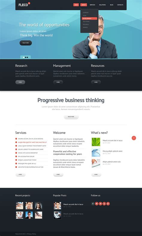 joomla event management template management company responsive joomla template 43467