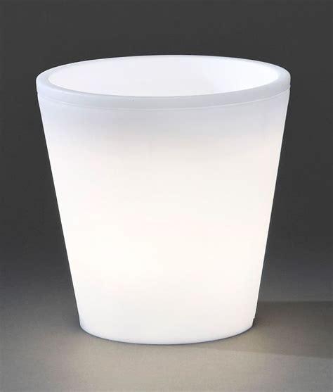large planter pot illuminated planter pot large h 400mm