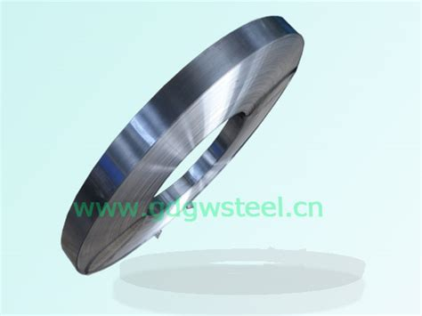 polished bright steel coil