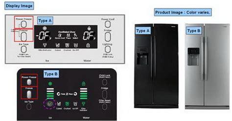 samsung refrigerator panel lights samsung refrigerator demo mode how to turn