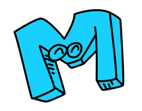 letra m m dibujo de letra m pintado por en dibujos net el d 237 a 04 06 16 a las 23 19 17 imprime pinta o